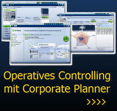 Link: Planung, Analyse und Reporting mit Modul Corporate Planner der Corporate Planning Suite